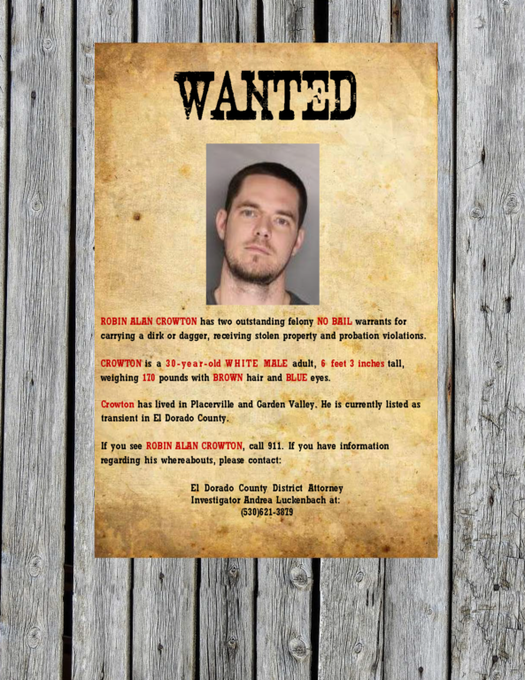 crowton wanted poster