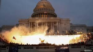 Mob at US Capitol