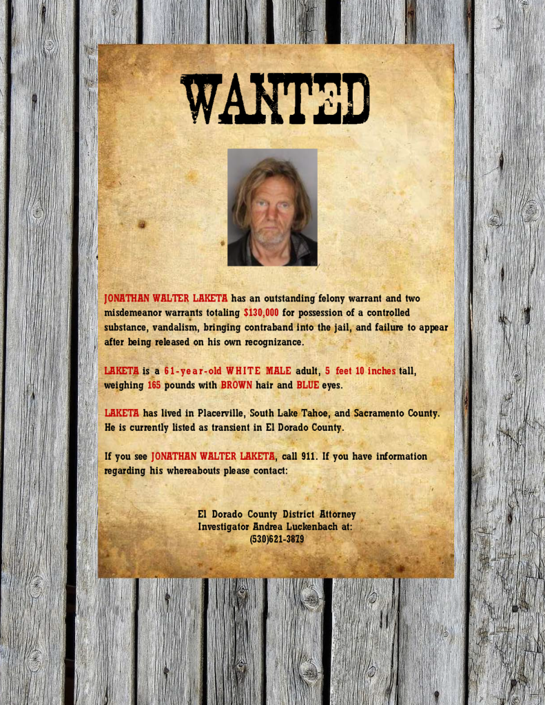 Laketa wanted poster